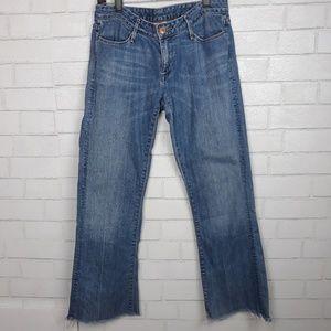 Earnest Sewn Low Rise Bootcut Hefner #40 Jeans